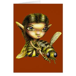 Bee Fairy Card
