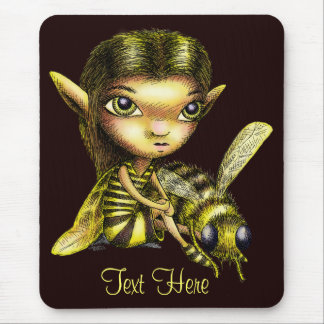 Bee Fairy Mouse Pad
