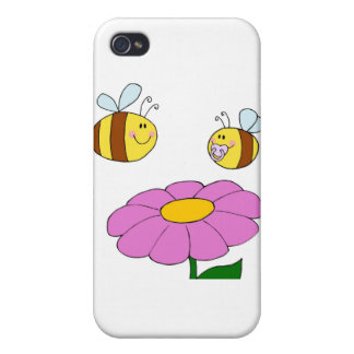 Bee Family at their Flower iPhone 4/4S Case