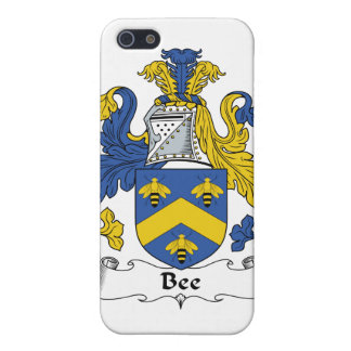 Bee Family Crest iPhone 5 Cases