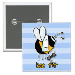 bee fit 2 inch square button
