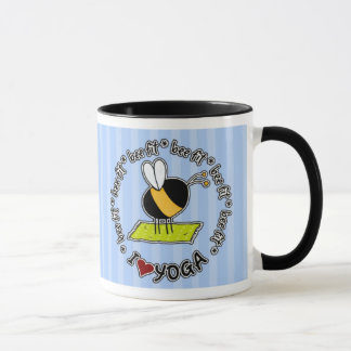 bee fit - yoga mug