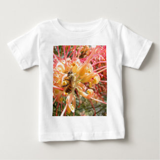Bee Flower Baby T-Shirt