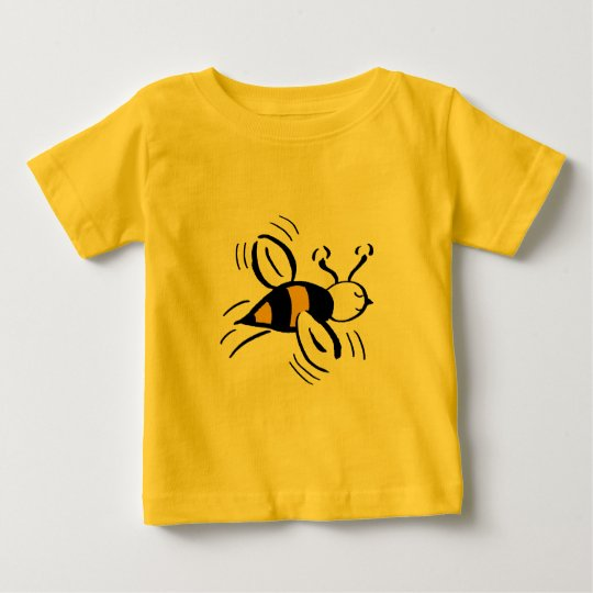 Bee Free Honey and Black Baby T-Shirt