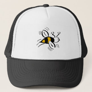 Bee Free Honey and Black Trucker Hat