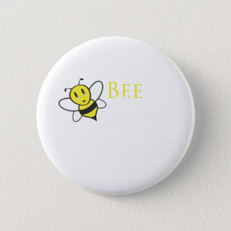 Bee Free Inspirational Design Button