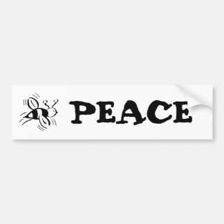 Bee Free - nd Car Bumper Sticker