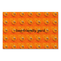 bee friendly yard sign