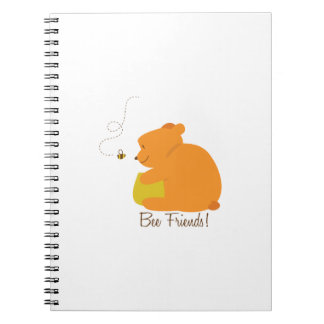 Bee Friends Spiral Notebooks