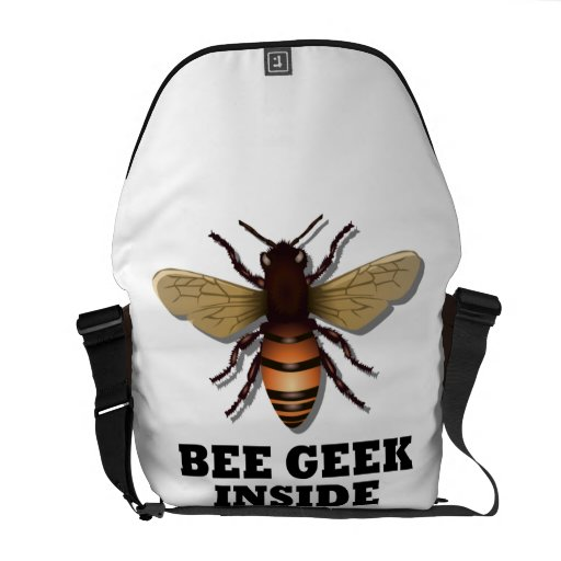 Bee Geek Inside (Bee) Courier Bags
