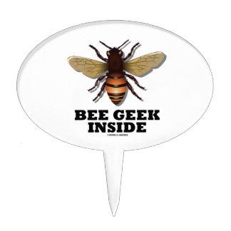 Bee Geek Inside Cake Pick