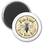 Bee Girl Magnet