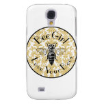 Bee Girl Samsung Galaxy S4 Cover