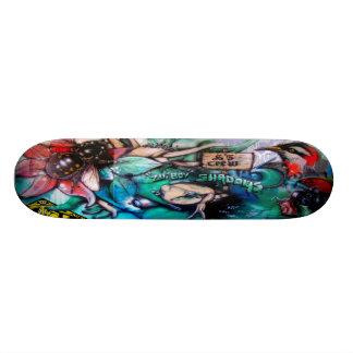 Bee Gonzo - Street Art Sk8 Deck Skateboard