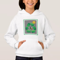 Bee Green - Cute Environmental Hoodie