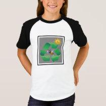 Bee Green - Cute Environmental T-Shirt