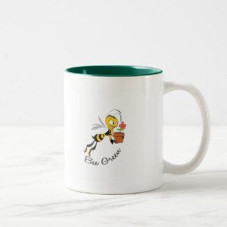 Bee Green Mugs