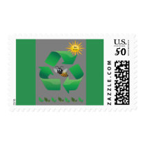 Bee Green Postage