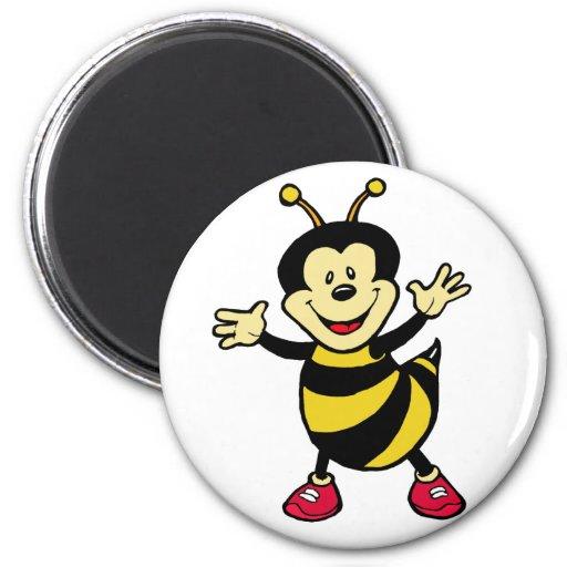 Bee Guy Refrigerator Magnets