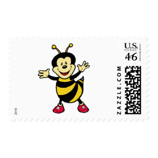 Bee Guy Postage Stamp