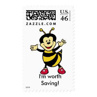 Bee Guy Postage