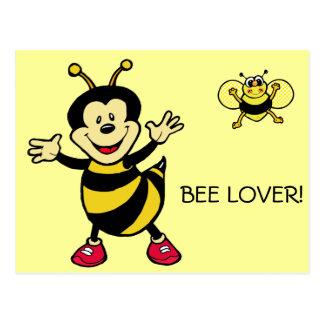 Bee Guy Post Card