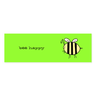 Bee Happy Business Card Template