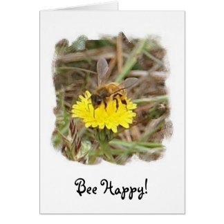Bee Happy! Stationery Note Card
