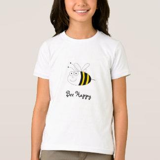 Bee Happy Cute Honeybee T-Shirt