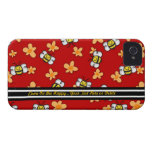 Bee Happy iPhone4 Barely There - Personalize iPhone 4 Covers