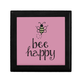 Bee Happy Jewelry Box