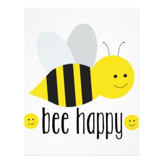 Bee Happy Letterhead