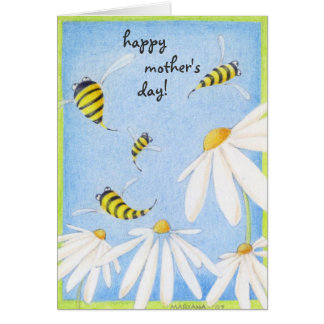 Bee Happy Mother's Day Card
