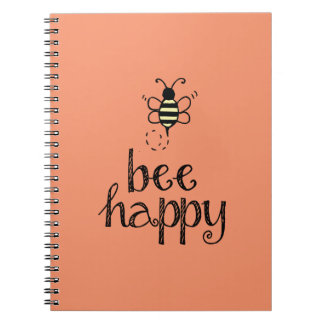 Bee Happy Notebook