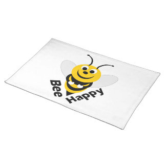 Bee Happy Placemat