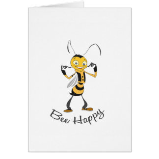 Bee Happy Stationery Note Card