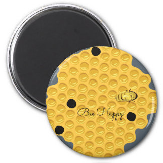 Bee Happy & The Honeycomb Magnet