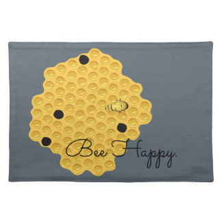 Bee Happy & The Honeycomb Placemat