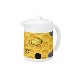 Bee Happy & The Honeycomb Teapot