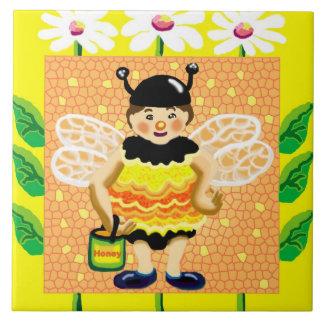 bee happy tile