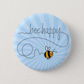 bee happy trail button