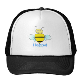 Bee-happy. Trucker Hat