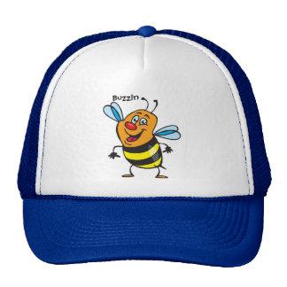 Bee Happy Trucker Hat