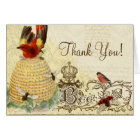 Bee Happy Vintage - Thank You Note Cards