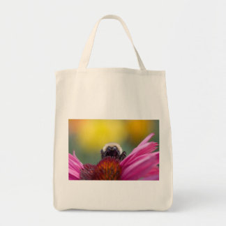 bee head canvas bags