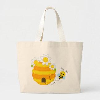 Bee Hive Large Tote Bag