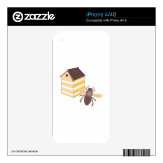 Bee Hive Skin For The iPhone 4S