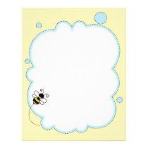 Bee / honey bee / bumble bee letterhead