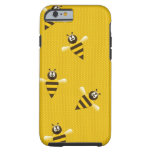 Bee Honey Hive Sports Peace Love Destiny Tough iPhone 6 Case