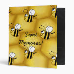 Bee Honeycomb collage Binder